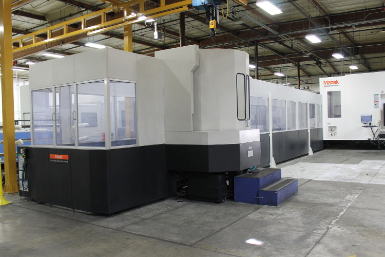 Aerospace CNC Machining Shop - Pallatech High Rise